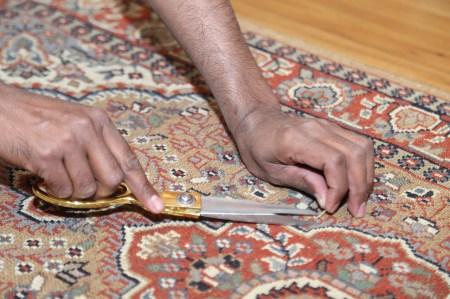 handknutna mattor